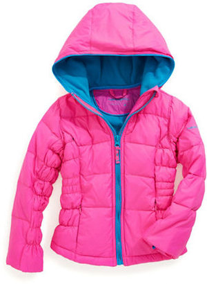 Hawke & Co Girls 2-6x Puff Jacket With Hood