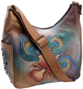 Anuschka 433 Hobo Bag $153 thestylecure.com