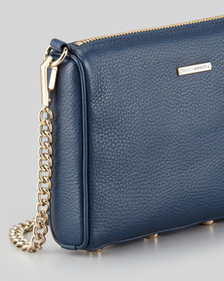 Rebecca Minkoff Mini 5-Zip Crossbody Bag, Midnight (Stylist Pick!)