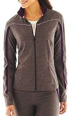 JCPenney XersionTM Piped Inset Full-Zip Jacket