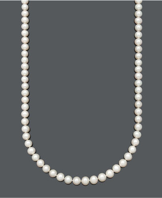 """Belle de Mer Aa+ 36"""" Cultured Freshwater Pearl Strand Necklace (8-1/2-9-1/2mm) in 14k Gold"""