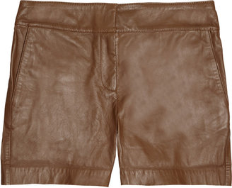 See by Chloe Leather shorts