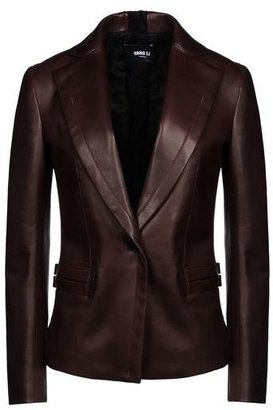 Yang Li Leather outerwear
