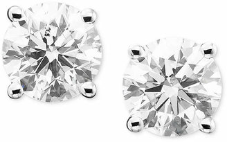 Macy's Diamond Stud Earrings (1/3 ct. t.w.) in 14k Gold or White Gold