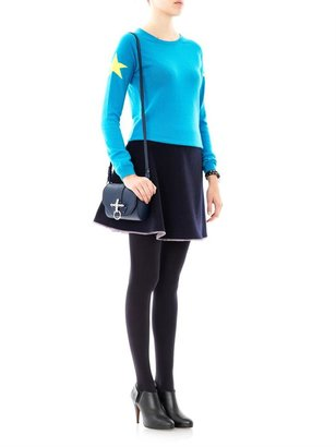 Chinti and Parker Star intarsia-knit sweater