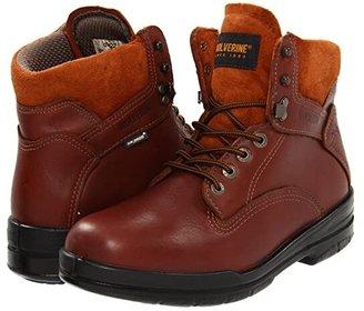 Wolverine 6 DuraShocks(r) SR Boot (Brown) Men's Work Boots