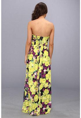 Jessica Simpson Strapless Twist Maxi Dress JS4V6042