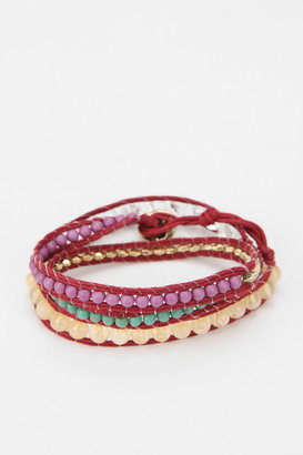 Urban Outfitters Beaded Wrap Bracelet