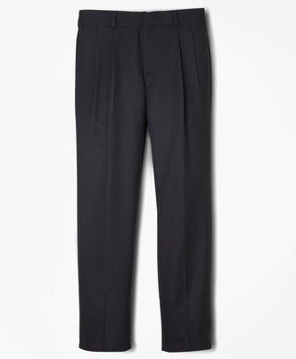 Brooks Brothers Boys BrooksEase Prep Pleat-Front Suit Pants