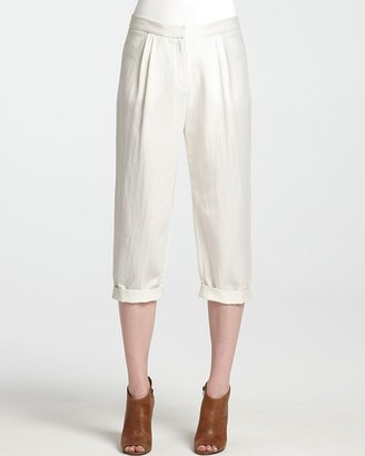 Halston Pants - Relaxed Fit Cropped