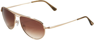 Tom Ford William Mirror Aviators, Palladium