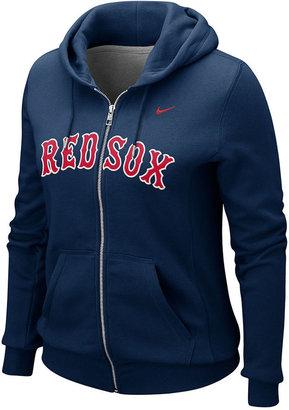 Nike Women's Sweatshirt, Red Sox Full Zip Hoodie