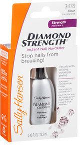 Sally Hansen Diamond Strength Instant Nail Hardener, Clear