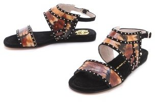 House Of Harlow Abra Flat Sandals