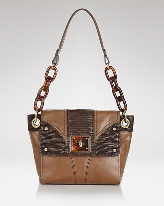 Milly Gabriellla Embossed Iguana Bag