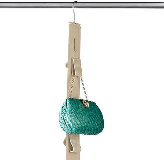 Container Store 14-Loop Handbag Organizer Stone