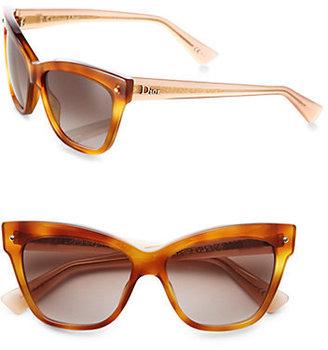 Christian Dior Plastic Cat's-Eye Sunglasses