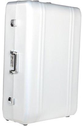 Zero Halliburton Zeroller - 32 Upright w/ Suiter (Silver) - Bags and Luggage