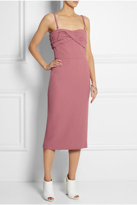 Burberry Strapless crepe dress