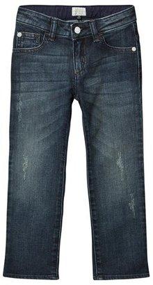Armani Junior Dark Wash Slim Leg Denim Jeans