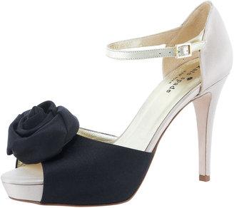 Kate Spade Gretchen Satin Flower Sandal