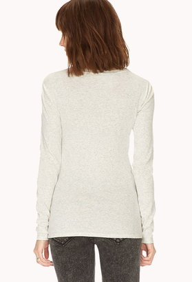 Forever 21 Favorite Long Sleeve Top