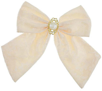 Topshop Lace Bow Brooch