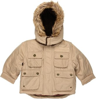 London Fog L212648 Boys Snorkle Jacket (Infant) (Tan) - Apparel
