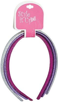 Style It Up Children's Glitter Headbands