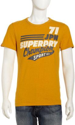 Superdry Champion Tee, Dakota Gold