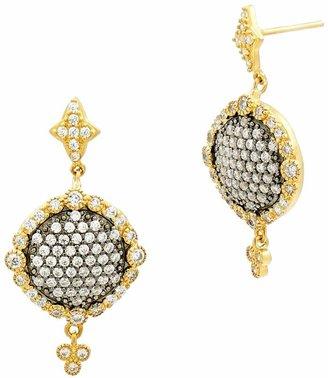 Freida Rothman Disc Drop Earrings