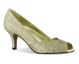 Easy Street Shoes Ravish Women's Peep-Toe Dress Heels