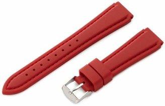 Hadley Roma Hadley-Roma 18mm 'Men's' Silicone Watch Strap