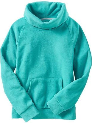 Old Navy Girls Micro-Performance Fleece Cowl-Neck Pullovers