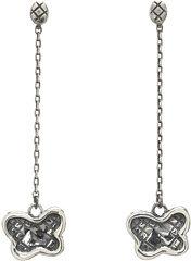 Bottega Veneta Silver Drop Earrings Earring