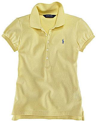 Ralph Lauren 4-6X Basic Mesh Polo Shirt