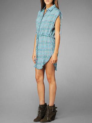 C&C California Plaid short sleeve dress