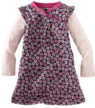 Tea Collection 'Cherry Blossom' Long Sleeve Dress (Little Girls & Big Girls)