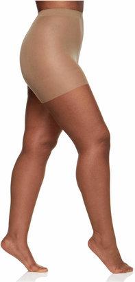 Berkshire Women Queen Plus Size Ultra Sheer Sandalfoot Hosiery 4413