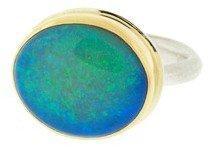 Jamie Joseph Oval Opal Ring