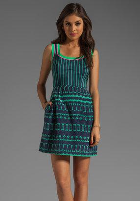 Nanette Lepore Optic Silk Campbell's Dress