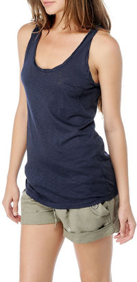 Splendid Supima Slub Jersey Pocket Tank