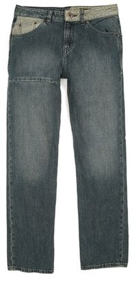 Volcom 'Nova Weirdo' Straight Leg Jeans (Big Boys)