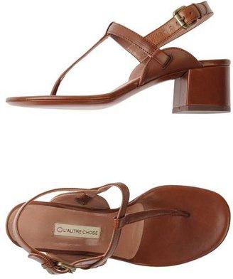 L'Autre Chose High-heeled sandals