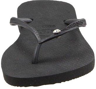 Havaianas Slim Crystal Glamour SW Flip Flops Women's Sandals