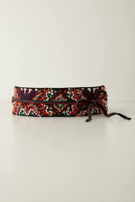Anthropologie Tobe Embroidered Belt