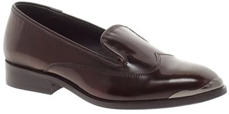 Asos MOULIN Leather Slipper Shoes