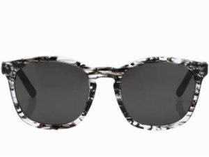 Alexander Wang Clear & Black Tortoise Shell Sunlgasses