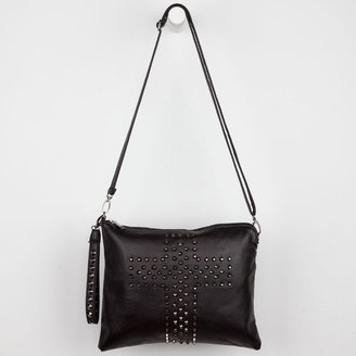 Stud Cross Crossbody Bag