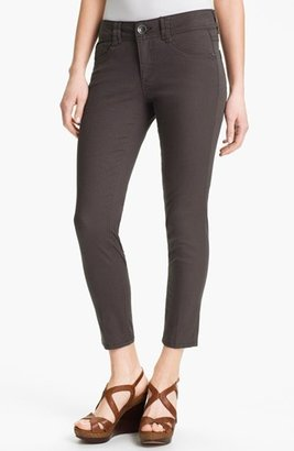 Nordstrom Wit & Wisdom Colored Denim Skinny Jeans Exclusive) Womens Grey Size 14 14